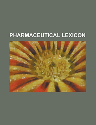 Pharmaceutical Lexicon