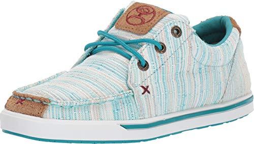 Twisted X Women's Hooey Shoes Multi Loper Casual Sneakers - Blue/Multi 8 M US