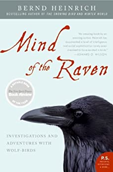 Mind of the Raven: Investigations and Adventures with Wolf-Birds (English Edition) por [Heinrich, Bernd]