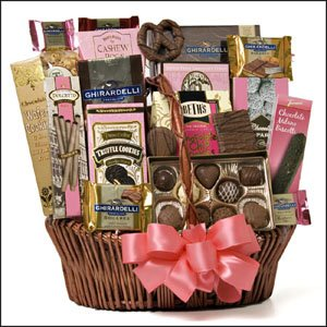 Extreme Chocolate Gift Basket Mothers Day Idea Birthday