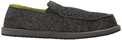 latest collections for sale discount in China Sanuk Men's Vagabond Mesh Slip-on Loafer Black cheap sale buy for sale free shipping lSr4F