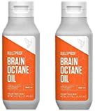 Bulletproof Brain Octane C8 MCT Oil from Coconut Oil, 16 Fl Oz Each, Provides Mental and Physical Energy, Keto and Paleo…