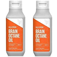 Bulletproof Brain Octane C8 MCT Oil from Coconut Oil Provides Mental and Physical...