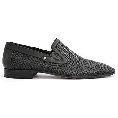 Mario Bruni Chic Black slip-on Men Formal Shoes