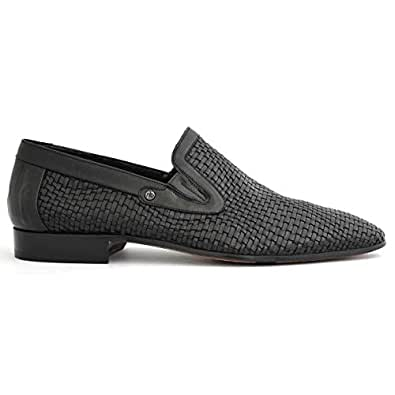 Mario Bruni Chic Black slip-on Men Formal Shoes