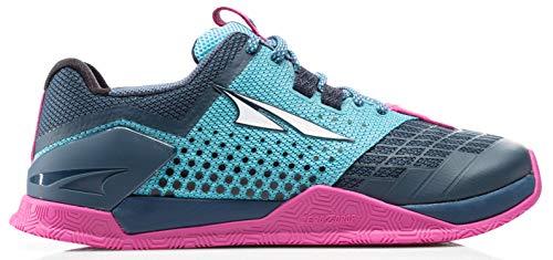 Altra AFW1976P Women's HIIT XT 2 Road Running Shoe, Blue/Raspberry - 8.5 B (M) US - Sport Raspberry Shoe