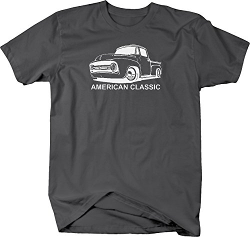 American Classic F100 F1 Stepside Pickup Truck Ford Tshirt - XLarge