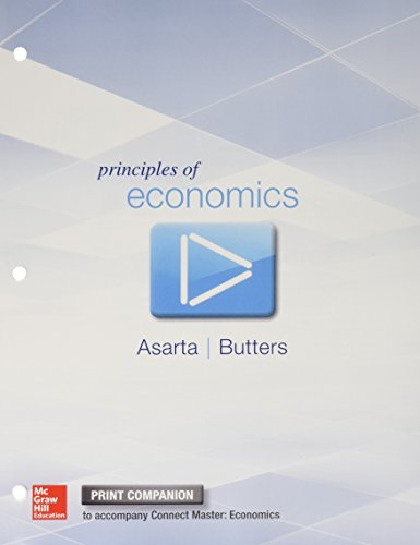 Principles of Economics Print Companion with Connect Master 1 Semester Access Code