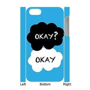 WJHSSB Diy hard Case Okay Okay customized 3D case For Iphone 4/4s