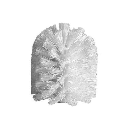 InterDesign Replacement Toilet Brush Head for Bathroom - White