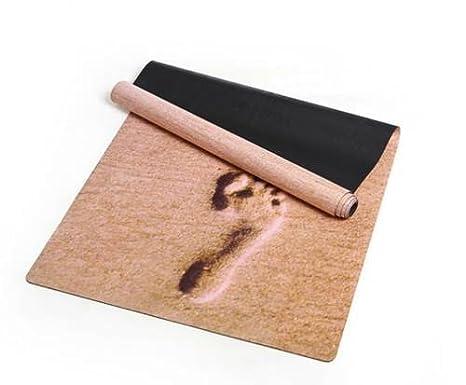 Amazon.com: PREMIUM – Alfombrilla de yoga con integrado ...