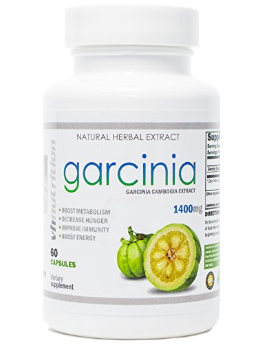 Garcinia Cambogia | 60% HCA Extract Capsules | Weight Loss Herb | 30 Day Supply