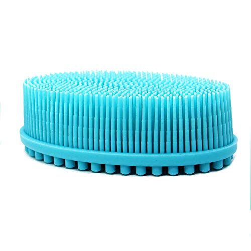 Silicone Shower Scrubber Exfoliation Massage product image