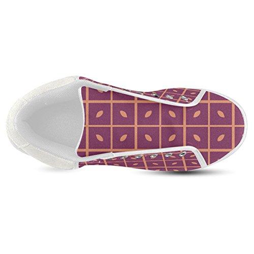 Artsadd Deja Zapatos De Lona De Chukka Del Modelo Para Los Hombres (model003)