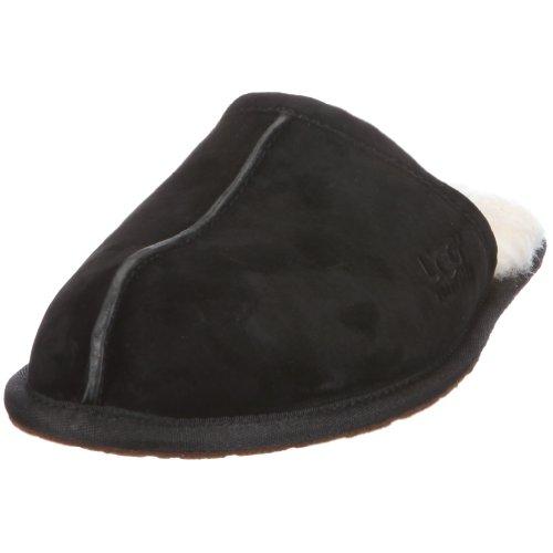 Ugg Men's Scuff Scuff Slipper, Black, 10 M