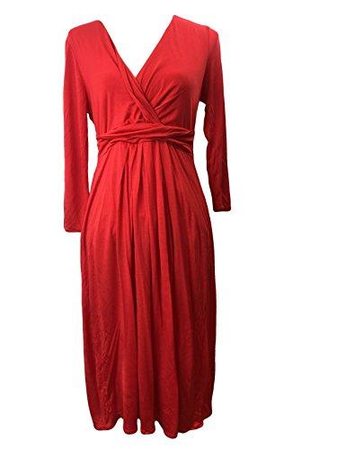 BODEN 100% Lyocell Jersey Mock WRAP Dress WH542 Size US 8 L