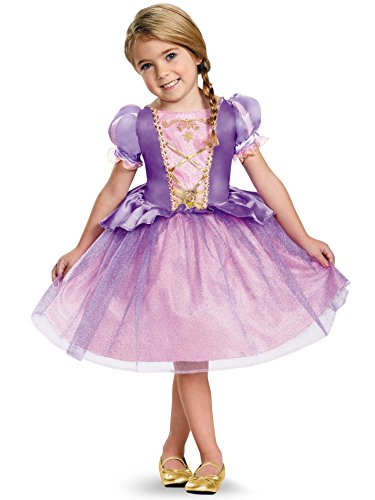 Rapunzel Toddler Classic Costume, Medium (3T-4T) ()