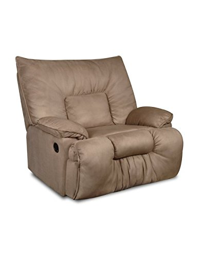 - Simmons Upholstery U709-195 Jaguar Tan Cuddler Recliner