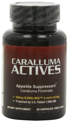Caralluma Actives, Natural Appetite Suppressant for Weight Loss and Losing Weight - 5 Pack by Caralluma Actives