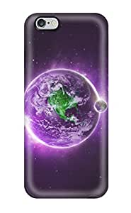Protection Case For Iphone 5C Cover For Iphone(purple Earth)