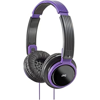 JVC HAS200V Riptidz Headphones (Violet)