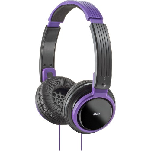 JVC HAS200V Riptidz Headphones (Violet)