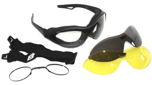PHOENIX VITAL LIFE Motorcycle Glasses and Goggles That Comes with Prescription Insert so You Can Get It Filled By Your Eye Doctor
