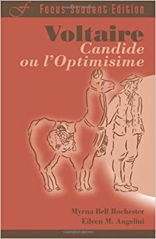 Book Voltaire: Candide ou l'Optimisme (Focus Student Edition) (French Edition) unknown Edition by Voltaire [2007]
