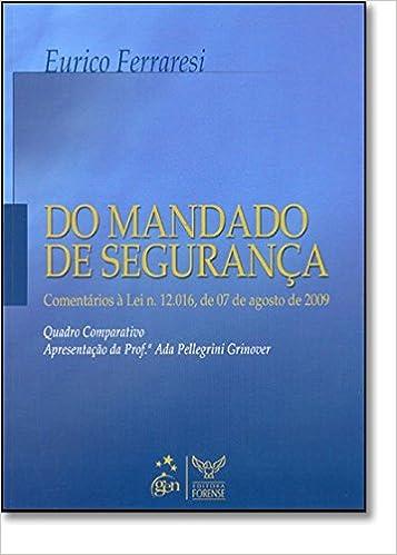 Book Do Mandado De Segurança (Em Portuguese do Brasil)