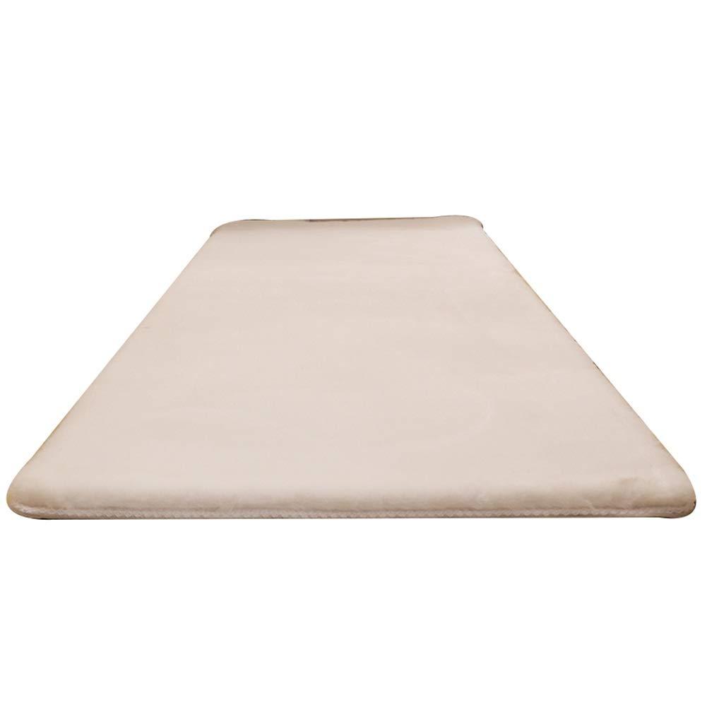 YANZHEN ランナー カーペッソファカーペット 滑り止めバッキング 柔らかい リビングルーム 厚くする 無臭 化学繊維、 3色 (Color : White, Size : 120x180cm) 120x180cm White B07SJG4RQV