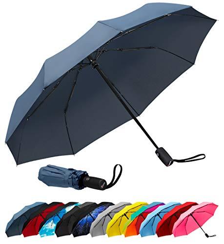 Repel Windproof Travel Umbrella with Teflon...