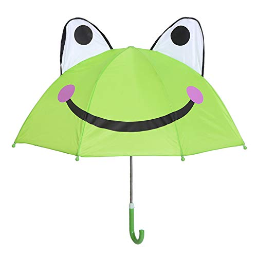 - Kids Umbrella for Boys and Girls (Frog)