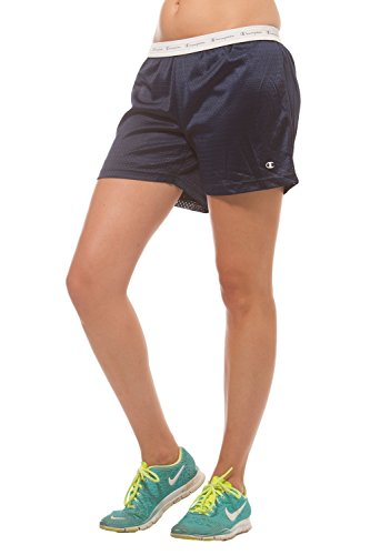 Champion Women's Lined mesh active shorts Navy S
