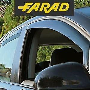 5 p Farad Kit 4 Delfettori Antivento Antiturbo Anteriori//Posteriori Opel GrandLand X dal 2017