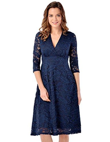 Buy belted empire waist dress - 8