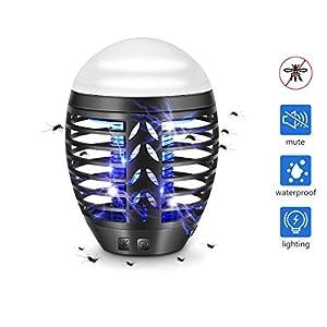 TDW - Lampada repellente per zanzare elettrica con presa USB, per campeggio, attività all'aria aperta, con luce per… 1 spesavip