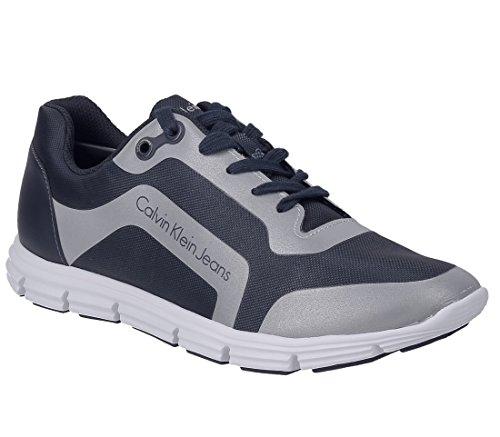 Nylon Sneaker HF Reflex Klein Blu Uomo Calvin Morris FwEqHpvS