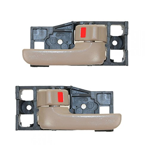 Oak Front Inside Door Handle Pair Set of 2 for 00-06 Tundra Regular & Access Cab