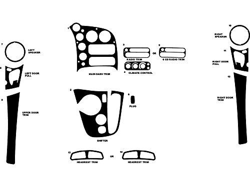 rdash-dash-kit-decal-trim-for-dodge-viper-2003-2010-aluminum-brushed-gunmetal