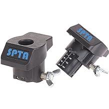 SPTA 2Pcs Sanding/Grinding Guide For Dremel Rotary Tools Model:4000, 3000, 400, 398, 395, 300, 285, 275, 200, 100, 8200, 800, 780, 770, 7700