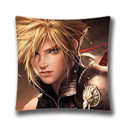 Pillow Cover Penelope 4545cm Sugee décoratifs Taie doreiller Pour canapé Coussins de Final Fantasy VII Cases Taie doreiller 45,7?x 45,7?cm B 664450