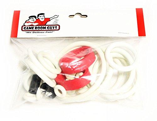 Game Room Guys Data East Laser War Pinball White Rubber Ring Kit ()
