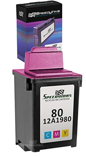 - Speedy Inks - Lexmark Remanufactured 12A1980#80 Color Ink Cartridge