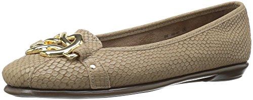 Taupe Snake (Aerosoles Women's High Bet Ballet Flat, Taupe Snake, 7.5 M US)
