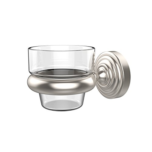 Allied Brass WP-64-SN Waverly Place Collection Wall Mounted Votive Candle Holder, Satin Nickel (Mounted Candle Brass Wall Holders)