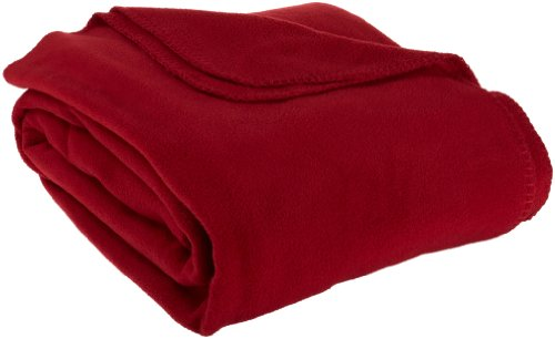 Supreme Full/Queen Fleece Blanket, Brick