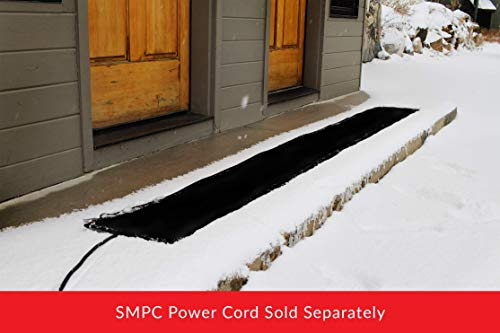 Summerstep Home WM12x120-RES Residential Snow Melting Heated Walkway Mat, Anti-Slip, Ideal for narrow walkways and snowy paths to hot tubs (Requires SMPC Power Cord)