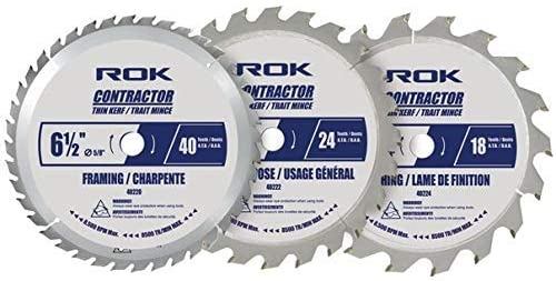 ROK 6-½ inch circular saw blade-Best 6-1/2 circular saw blade