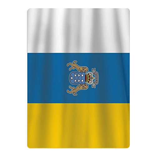 Shi Fu Flag Of The Canary Islands Teenagers Beach Towels Young Bath Towels Children Pool Towel 65cm90cm - Canary Kitchen Towel