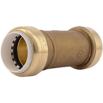 SharkBite PVC Fitting UIP4020A 1 inch X 1 inch CTS PVC Connector to Copper PEX